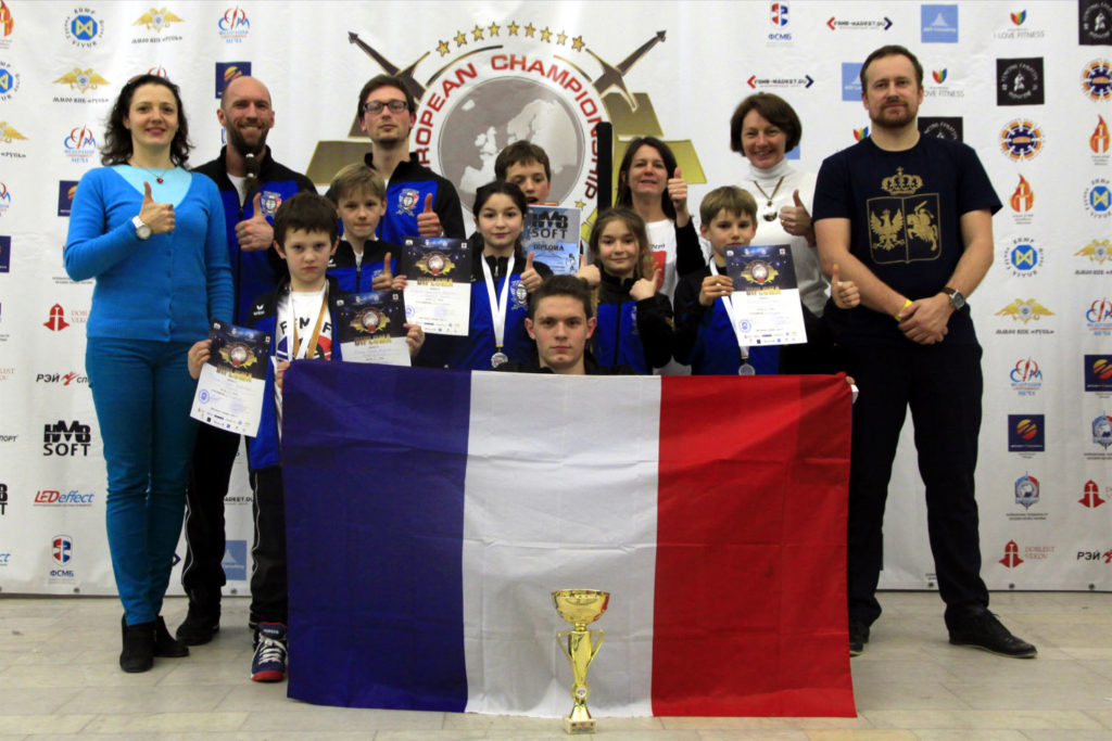 Equipe de France de Modern Sword Fighting à Minsk-ffmsf.fr